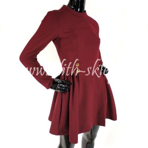 14831f8bf Krótka sukienka koktajlowa, rozkloszowana - LILITH sklep