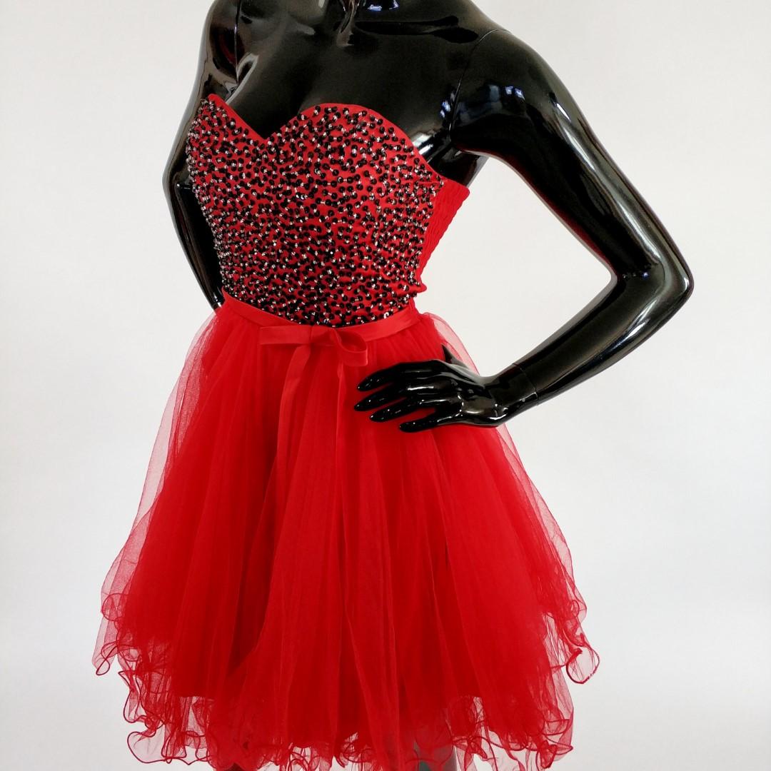 17f57db91f ... sukienka-gorsetowa-czerwona ...